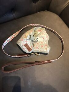 'Kath Kidson' small dog harness and lead set