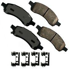 Disc Brake Pad Set-ProACT Ultra Premium Ceramic Pads Front Akebono ACT1169A