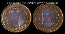 5 Euros Finlande 2012 Les Batiments Provinciaux Cathédrale d'Helsinki