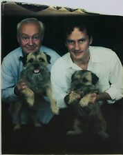 WILLIAM WEGMAN-NY/MA Surrealist- Signed Large Polaroid Photo-Dogs w/ Owners