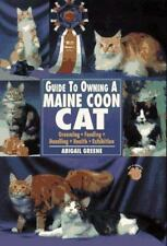 Guide to Owning a Maine Coon Cat by Abigail Greene, Paperback, Feline, Breed