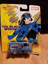Hot Wheels MARVEL BLACK WIDOW  Combat Medic   Real Riders DJG87-4B10