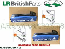 LAND ROVER TIE ROD END OUTER RANGE ROVER 03-12 LEMFORDER SET OF 2 NEW QJB500050