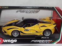 Ferrari FXX-K gelb-schwarz 1:18 Bburago 18-16010 neu & OVP