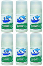 6-PACK Desodorante Roll-On Unisex Dial Deodorant Crystal Breeze SAME-DAY SHIP