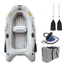 "INFLATABLE BOAT RIB  DINGHY TENDER 8' 6"" length, can use with electric outboard"