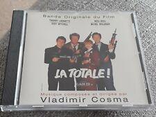 LA TOTALE! CD SOUNDTRACK - VLADIMIR COSMA - RARE AND OOP