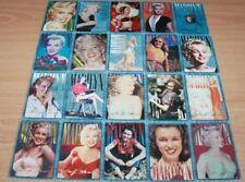 MARILYN MONROE 20 TRADING CARDS 1993