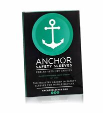 Anchor Sleeves 25 Ct iPad Sanitary Disposable Sleeve Tattoo Artist Mechanic Chef