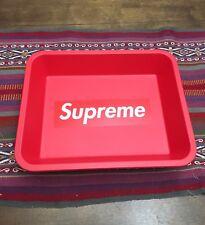SUPREME S/S F/W BOX LOGO IN N OUT RED TRAY ONE SIZE