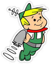 "Jetsons Elroy flying sticker decal 4"" x 5"""