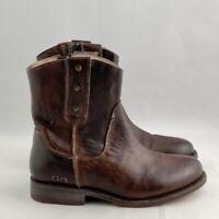 Bed Stu Women's Sz 6 Starling Short Western Teak Rustic Mason BFS Boots Cobbler
