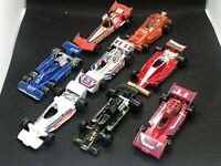 Lot of 8 Vintage F1 Indy Race Cars Tomica and Kenner 1:64 Diecast