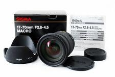 SIGMA 17-70mm f/2.8-4.5 DC Macro Lens for Pentax Japan [Near Mint] #435600A