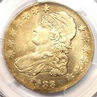 1833 Capped Bust Half Dollar 50C - PCGS XF Details (EF) - Rare Certified Coin!