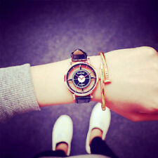 Luxus Persönlichkeit Unisex Hohl Armbanduhren Analog Quarz Mode Uhren Uhr Watch