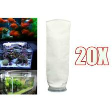 20Pack 200 Micron Aquarium Marine Sump Fish Tank Felt Filter Sock Bag Pouch 4""