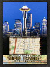 2018 Goodwin Champions Space Needle Seattle, Washington World Traveler Map Relic