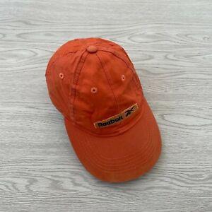 Reebok Vintage Baseball Cap - Orange - Adjustable - Hat Tennis