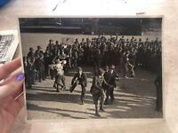 FOTO FOTOGRAFIA GRUPPO ALPINI DI VERZUOLO ANNO 1932 SI BALLA IN ALLEGRIA