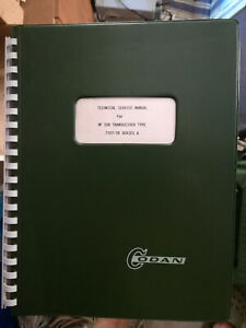 codan barrett qmac radio service manuals