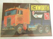 Kenworth K-123 Cabover Tractor Truck Retro Deluxe Edition Amt Model Kit Sealed