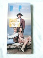 WILSON PHILLIPS SEALED LONGBOX CD Debut HOLD ON RELEASE ME LIMITED PROMO STICKER