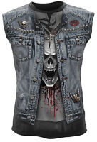 Spiral Direct THRASH METAL Sleeveless T-Shirt Evil/Metal/Skulls/Biker/Rock/Top