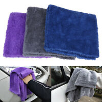 Microfiber Cloth No Edge Premium Detailing Towel For Buffing Finishe Car Wash JR