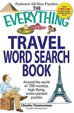 Everything®: Travel Word Search Book : Around the World in 150 Non-Stop,...