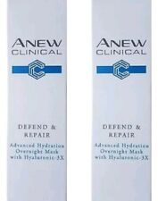 Avon Anew Clinical Defend & Repair Advanced Hydration Overnight Mask - 10ml X 2