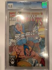 NEW MUTANTS 97  CGC 9.8   WHITE pages    wolverine app, Liefeld art