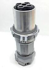 Killark VP204612-S39 Reverse Service 200-Amp 3-Wire 4-Pole Style 2 Plug 600VAC