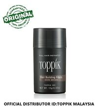 Toppik Hair Fiber 12G DARK BROWN (OFFICIAL TOPPIK DISTRIBUTOR MALAYSIA)