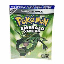 Pokemon Emerald Version Gameboy Advance Official Nintendo Player's Guide