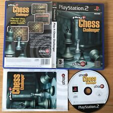 Play It Chess Challenger PS2 PlayStation 2 PAL Game - Complete Chess Challenge