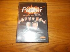 CLAIM YOUR POWER NOW DVD VIDEO BEYOND THE SECRET # 4 BRAND NEW SEALED