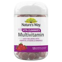 Nature's Way Adult Vita Gummies Multivitamin 120 Strawberry Flavoured Pastilles