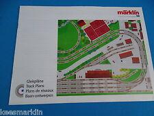 Marklin Track Plans  Gleispläne     C Track
