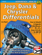 How to Rebuild Upgrade Chrysler Jeep AMC 20 Differential Rear Axle End 1957-2011