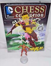 DC Chess Collection #70 - Kid Flash - Eaglemoss - Teen Titans