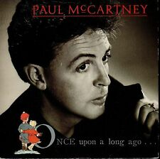 disco 45 GIRI Paul McCARTNEY ONCE UPON A LONG AGO... - BACK ON MY FEET