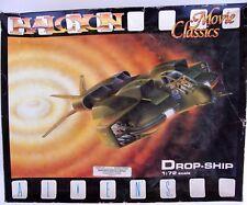 HALCYON MOVIE CLASSICS ALIENS DROP-SHIP 1:72 SCALE MODEL KIT - READY TO BUILD!