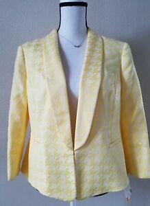 KASPER Women's Career Blazer  Size 10**3/4 Sleeve**Lined**Sunburst Color**NWT**