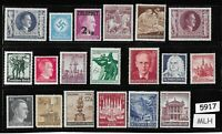 #5917    Mixed MLH stamp group / Adolph Hitler / Third Reich Germany Postage