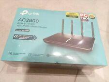 TP-Link Archer VR2800 Dual-Band VDSL/ADSL Modem Router -Black.
