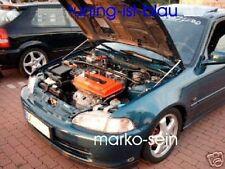 Motor Haubenlifter Honda Civic 92-95 (Paar) Hoodlift, Motorhaubenlifter (WES)