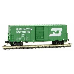 Z Scale - MICRO-TRAINS LINE 503 00 202 BURLINGTON NORTHERN 40' Standard Box Car