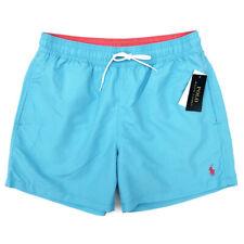Neues AngebotNEU Ralph Lauren Herren helle blaue Badehose Board Schwimmen Shorts Größe Medium