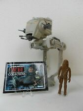 """Vintage Star Wars ROTJ 1982 AT-ST Scout Walker - Very Good - """"Fully Functional""""^"""